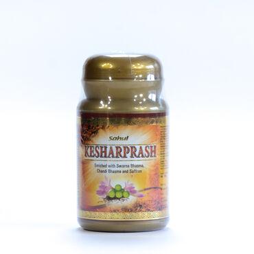 Кешарпраш (обогащенный шафраном и золотом)бад,мощный жизненный тоник