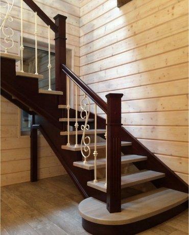 Делаем лестницы из дерева в Бишкек