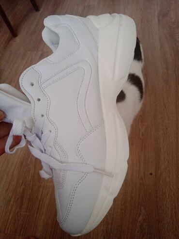 Мужская обувь - Кыргызстан: Кроссовки новые, лёгкие, гелевая подошва