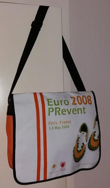 Interesantna originalna nova torba za sport, školu i ostalo.  40x30 cm