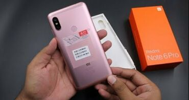 xiaomi redmi 4 pro в Азербайджан: Б/у Xiaomi Redmi 6 Pro 64 ГБ Розовый