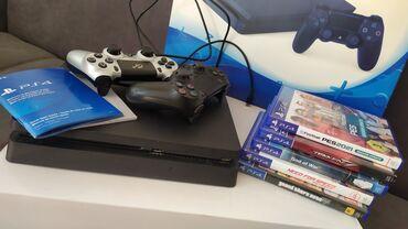 Видеоигры и приставки - Кыргызстан: Продается PS4 в идеальном состоянии!В комплект входят 2 джойстика и 5