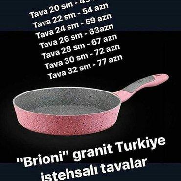 Bakı şəhərində Tava catdirilma mumkundu