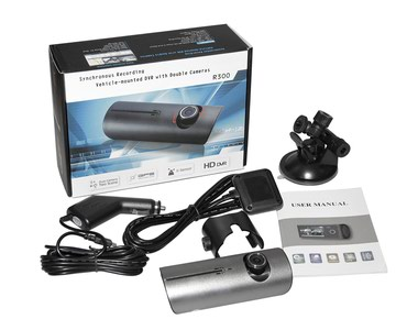 Videoqeydıyatcı r300 ıkı kamera hem salonu hem çolu cekır gps в Bakı