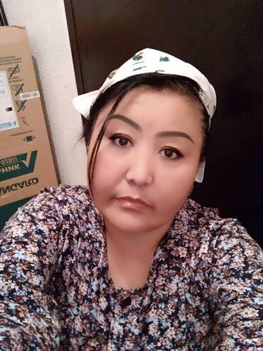 Ищу работу. мне 42 лет, кыргызка. грамотная, знаю русский, узбекский и