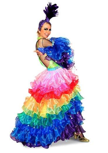На прокат очень яркий бразильский костюм ! в Бишкек