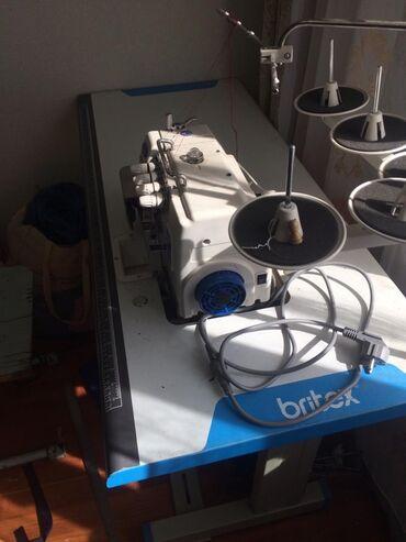 Новая швейная машинка фирмы Britex, 5тинитка +оверлок, использовали од