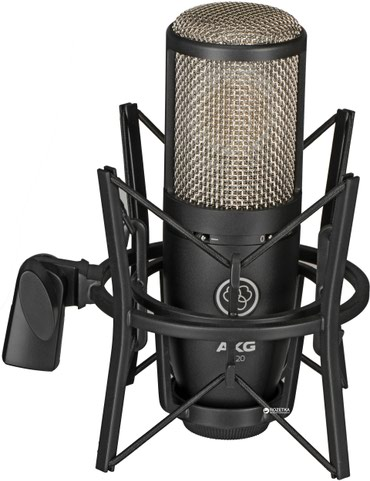 Студийный, вокальный микрофон AKG P220 в Бишкек