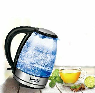 чайник электрический в Кыргызстан: Электрический чайник! Sonifer sf-2033Объем:- 1,7 литров!Бесплатная