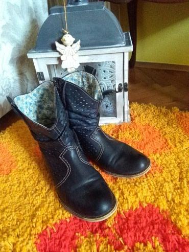 Prizu jos su - Srbija: Cizmice Rieker kozne neunistive,nosene al su jos uvek vrhhhh,38 teget