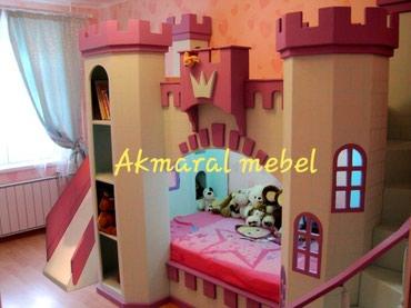 Двухъярусный кровать N: 45 Дворец . размер матраса 190/80см. материал
