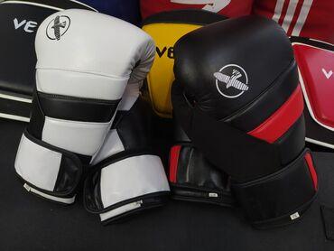Перчатки в Кыргызстан: Профессиональные перчатки HAYABUSA 100% плотная кожа в спортивном