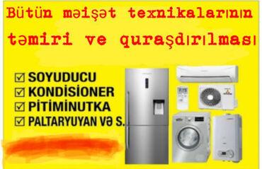 Texnikanın təmiri - Azərbaycan: Təmir | Kondisionerlər | Evə gəlməklə