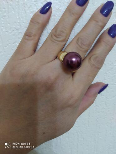Продаю кольцо с жемчугом очень крупный, Майорка-Испания, серебро в