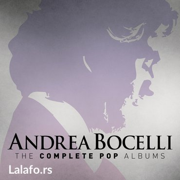 Andrea Bocelli 16 pop albuma + the best of u mp3 formatu na 1 DVD - Belgrade