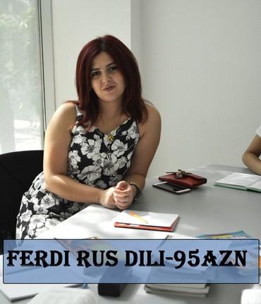 """Fərdi Rus dili Dərslərimizin qiymətində Endirim var.""""0"""" dan başlayanı"""