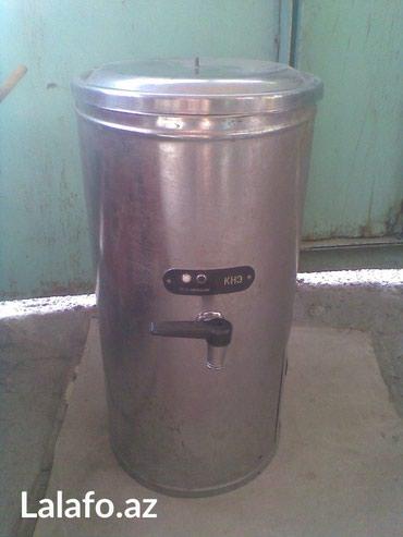 Bakı şəhərində Su qızdırıcısı. Sovetlər dövründə kofelərdə istifadə