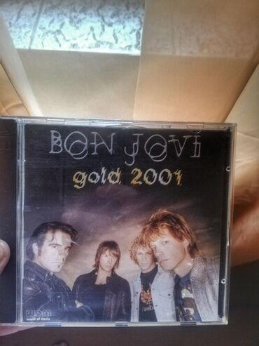 Knjige, časopisi, CD i DVD | Zrenjanin: CD BON JOVI (dupli!) Gold 2001Hitovi poput: runaway, It's my life