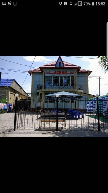 Рестораны, кафе - Кыргызстан: Продаю действующий бизнес кафе 600м2 4 этажа 1й этаж цокольный VIP за