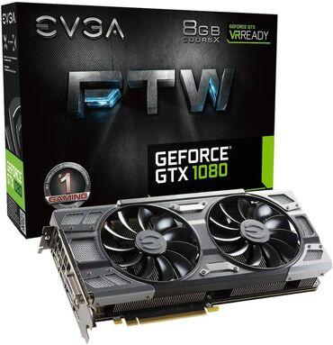 компьютер в Кыргызстан: EVGA GeForce GTX 1080 FTW GAMING ACX 3.0, 8 ГБ GDDR5X, RGB-светодиод