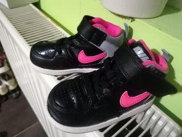 Dečija odeća i obuća - Zajecar: Nike duboke patike ocuvane kao nove za jos fotografija pisati