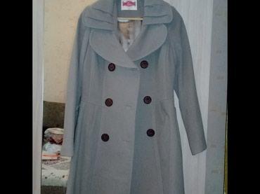 r 44 46 в Кыргызстан: Турецкое кашемировое пальто. Деми. Новое. Размером не подошло. размер