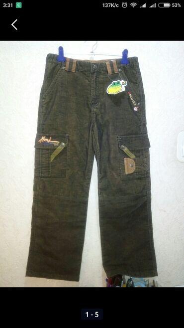 40-42-44 на рост 155, Новые мужские брюки, вельветовые, коричневого