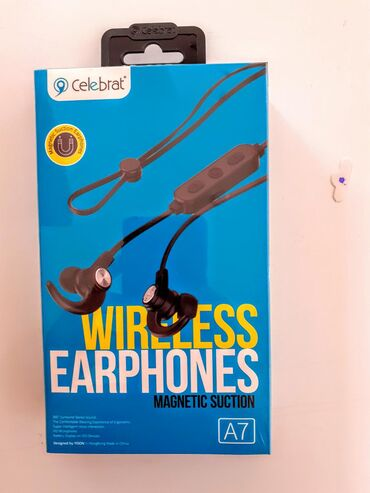 ◇Celebrat Wireless Earphones A7.◇Online mağaza. ◇Yeni.◇Original