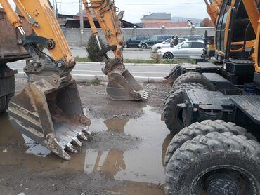 Грузовой и с/х транспорт - Кыргызстан: Услуги эксковатора, копаем котлаваны, траншеи, вывоз мусора, вывоз