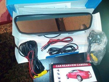 """Gəncə şəhərində Gencede avtomobil ucun arxa kamera ve salon guzgu monitoru. 4,3 """"hd"""