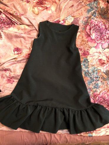 Свободное модное платье , новое , размер s-m, отдам за 1000 в Бишкек