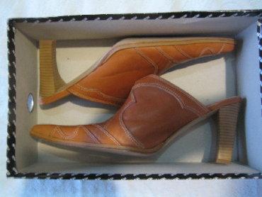 Prodajem nove zenske cipele(papuce)italijanske koza nisu nosene samo