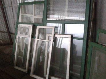 Продаю одинарные деревянные рамы без коробов размер 1560*865 мм в Бишкек