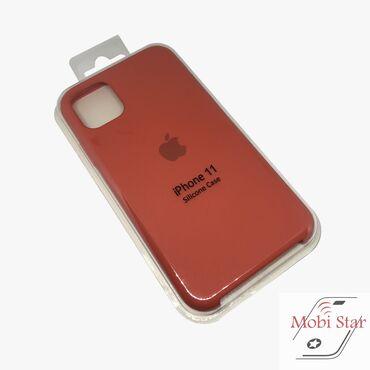 Apple iPhone 11 zaštitna futrola u narandžastoj boji. Pored toga što