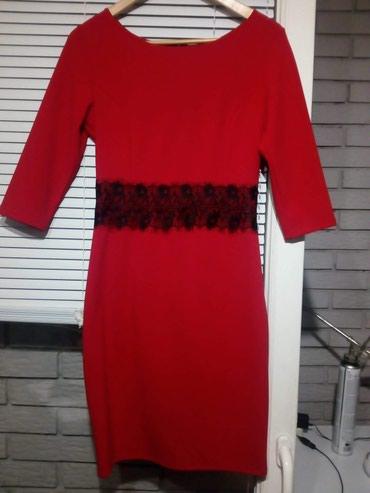Haljina kingfil - Srbija: NOVA elegantna haljina, nije nosena velicina: L duzina haljine 95cm