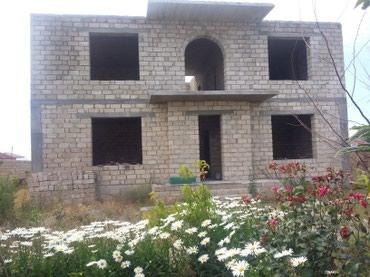 Bakı şəhərində Bakı Şüvəlan Gülçülükdə 8 sotda yarıtikili villa, kiçik ev,