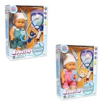 Lutka Beba doktorski set je simpatična bebica, koja jedošla kod