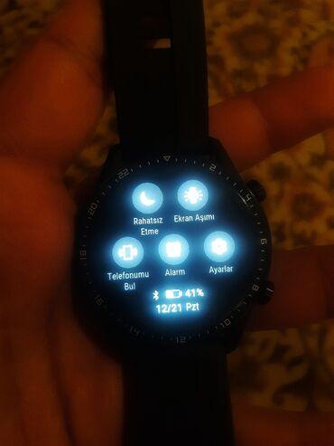 Qol saatları - Lənkəran: Huawei watch gt 2 / iwlenmiw 2 ayin saatidi anroid mp3 sesli danismaq