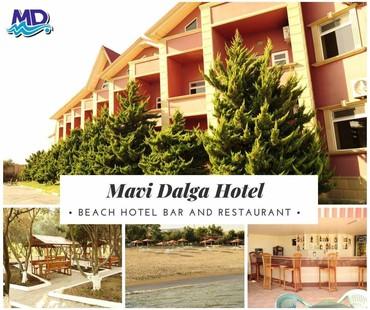 Otel və hostellər - Azərbaycan: Mavi dalga hotel sixovda selyan sossesi 15 deyerlesir, zeng edin