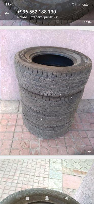 шины 265 65 r17 в Кыргызстан: Продаю шины зимние б/у в хорошем состоянии, 4 штуки, размер