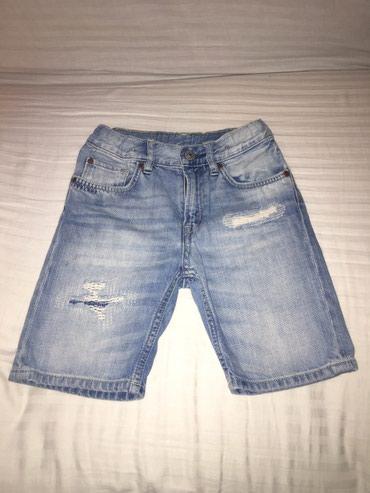 Детские джинсы и брюки в Кыргызстан: H&M джинсовые шорты. Состояние отличное