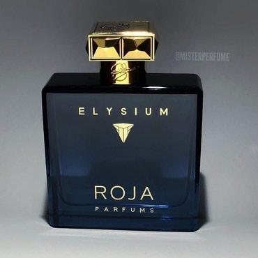 pour toujours - Azərbaycan: Kişilər üçün nəzərdə tutulmuş aromatik qoxulu #Roja Parfums Elysium