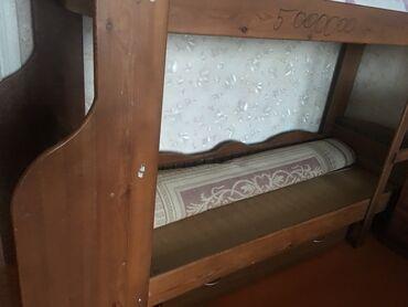 Продаётся детская двухярусная кровать из карагача