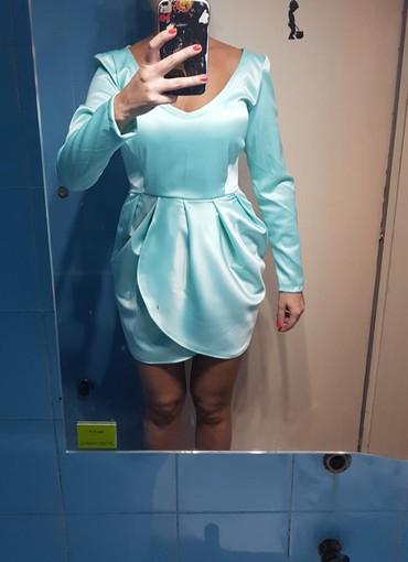 Prelepa satenska haljinica nova s ili xs - Nis