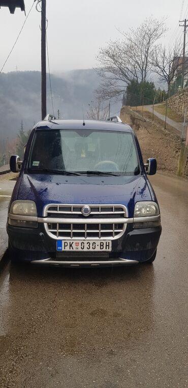 Aro spartana 1 2 mt - Srbija: Fiat Doblo 1.9 l. 2002 | 298000 km