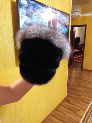 Шапка новая, натуральная норка! Россия в Бишкек