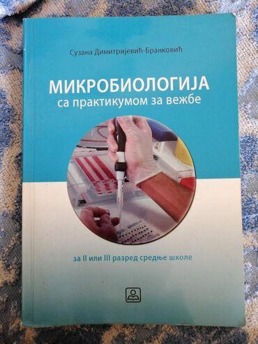 Knjige, časopisi, CD i DVD | Ivanjica: Mikrobiologija sa praktikumom za vezbe. Za 2 i 3 razred srednje skole