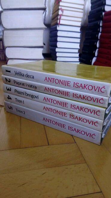 A. Isaković - komplet knjiga