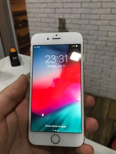 Мобильные телефоны и аксессуары - Азербайджан: IPhone 6 | 16 ГБ | Золотой Б/У