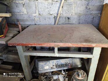 Советский стол дерево СССР железное покрытие либо обмен адрес село